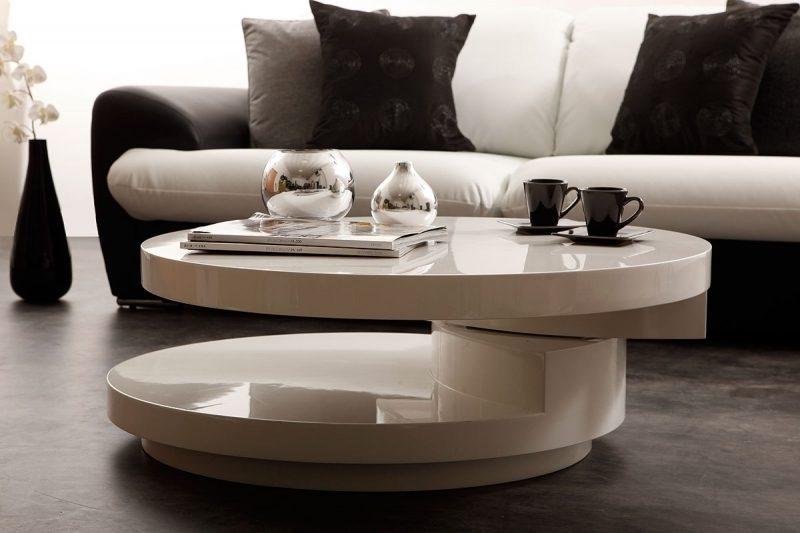 mesa de centro corredera y moderna