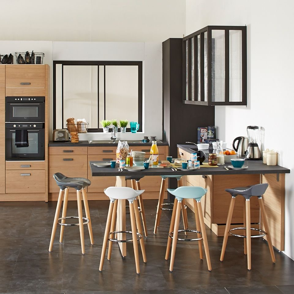 Mesa de cocina alta adosada :: Imágenes y fotos