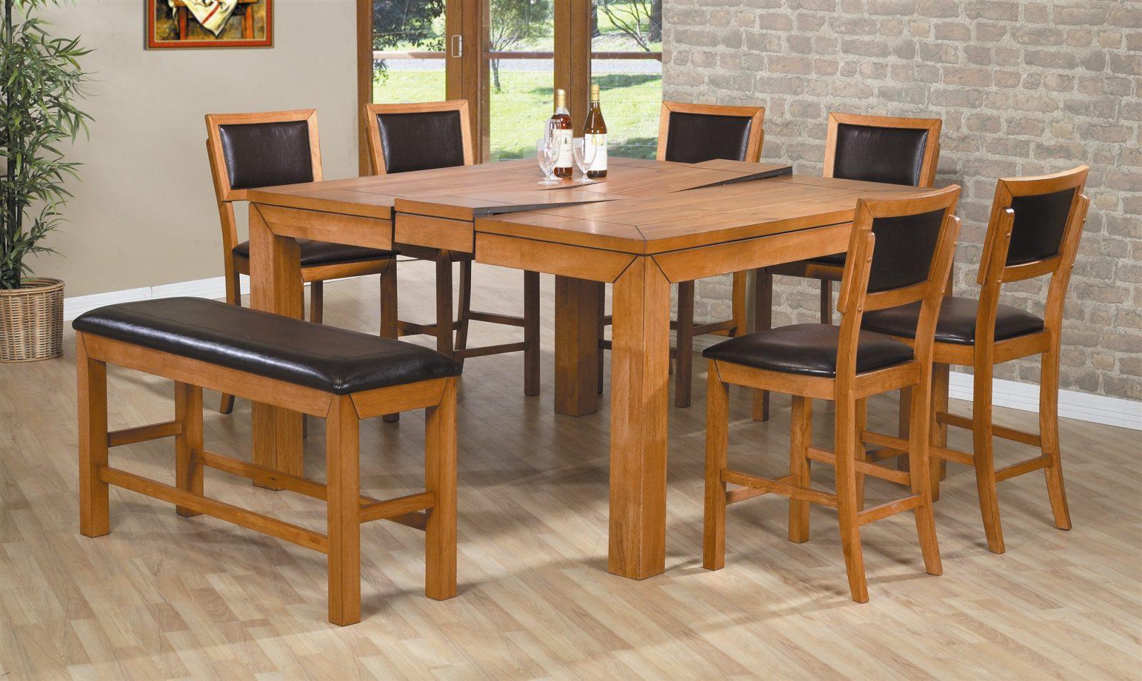 Mesas de cocina de madera - Mesas de madera para cocina ...