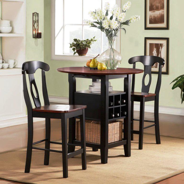 Mesa de cocina pequeña redonda :: Imágenes y fotos