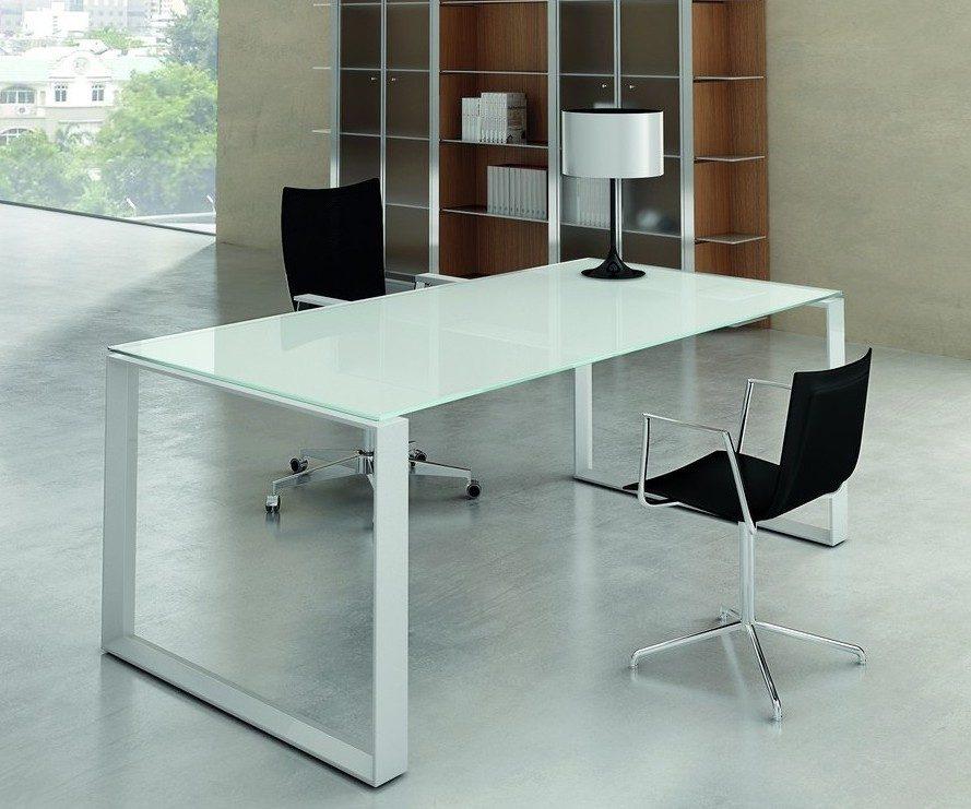 Galer a de im genes mesas de despacho de cristal - Mesas de despacho de cristal ...