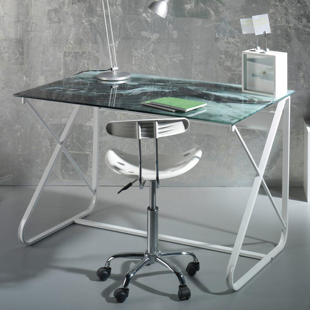 Mesa de cristal con acabados de m rmol im genes y fotos - Mesas de marmol y cristal ...