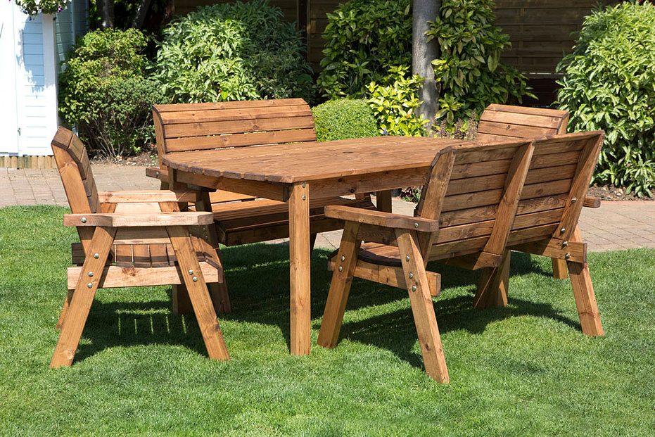 Mesas de jard n - Mesa de madera para jardin ...