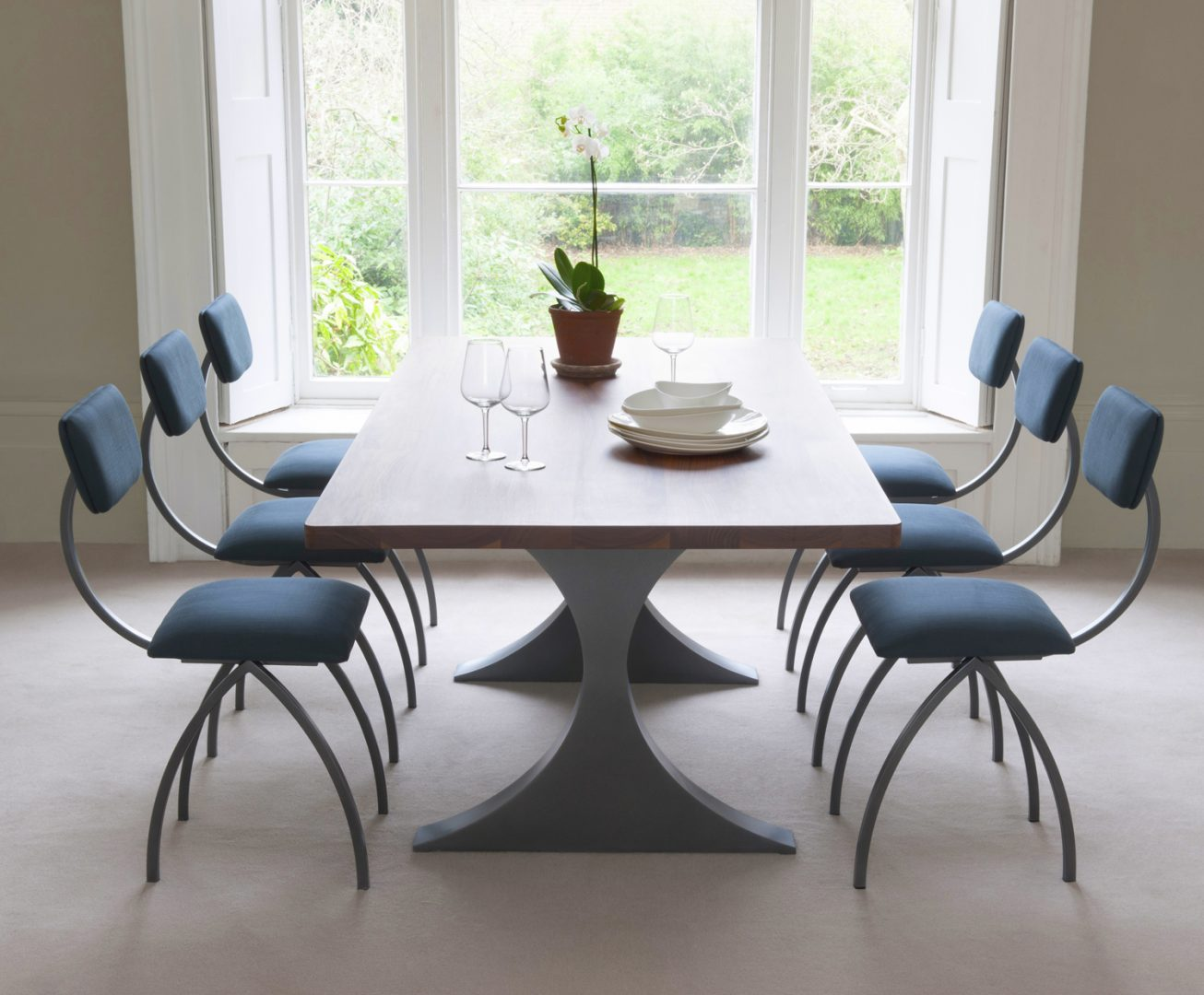 mesas modernas de comedor