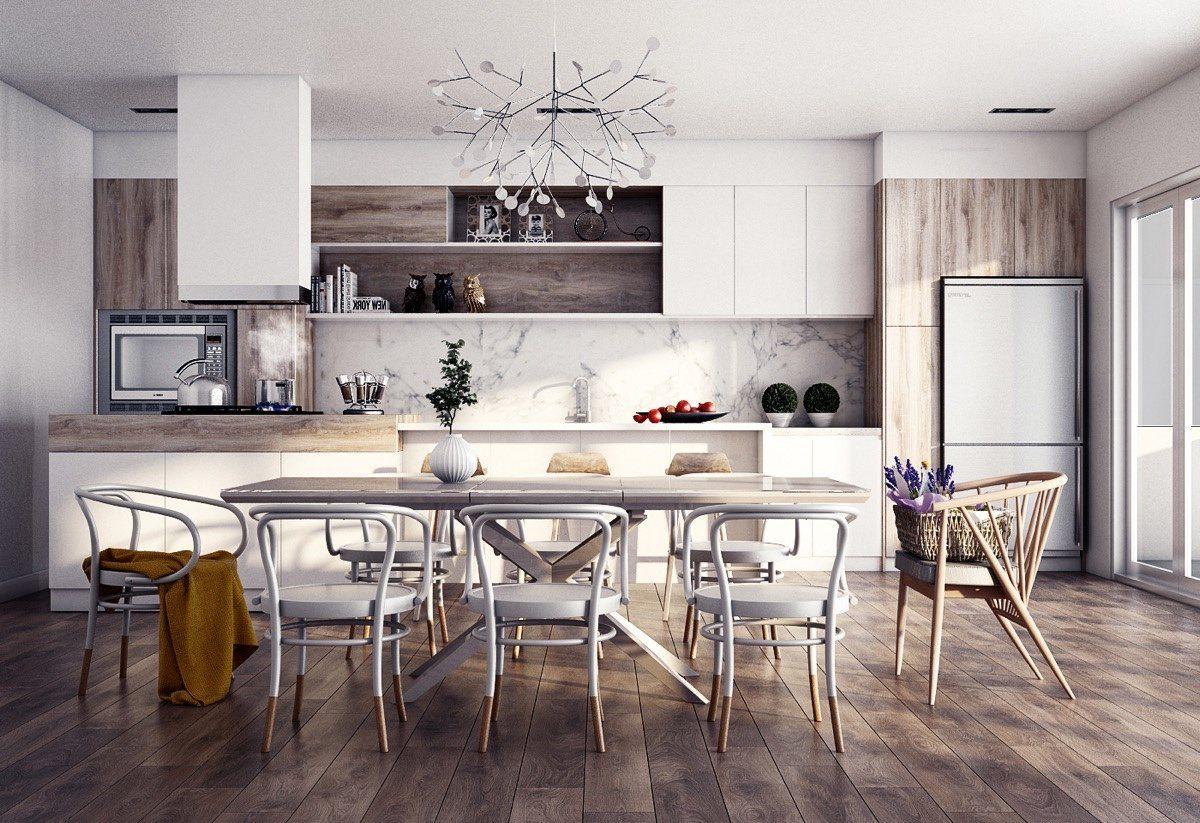 Mesa para cocina de estilo industrial im genes y fotos for Muebles de cocina estilo industrial