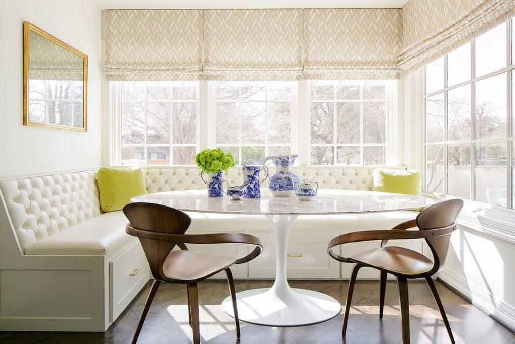 Mesas redondas de cristal - Mesa cristal blanco ...