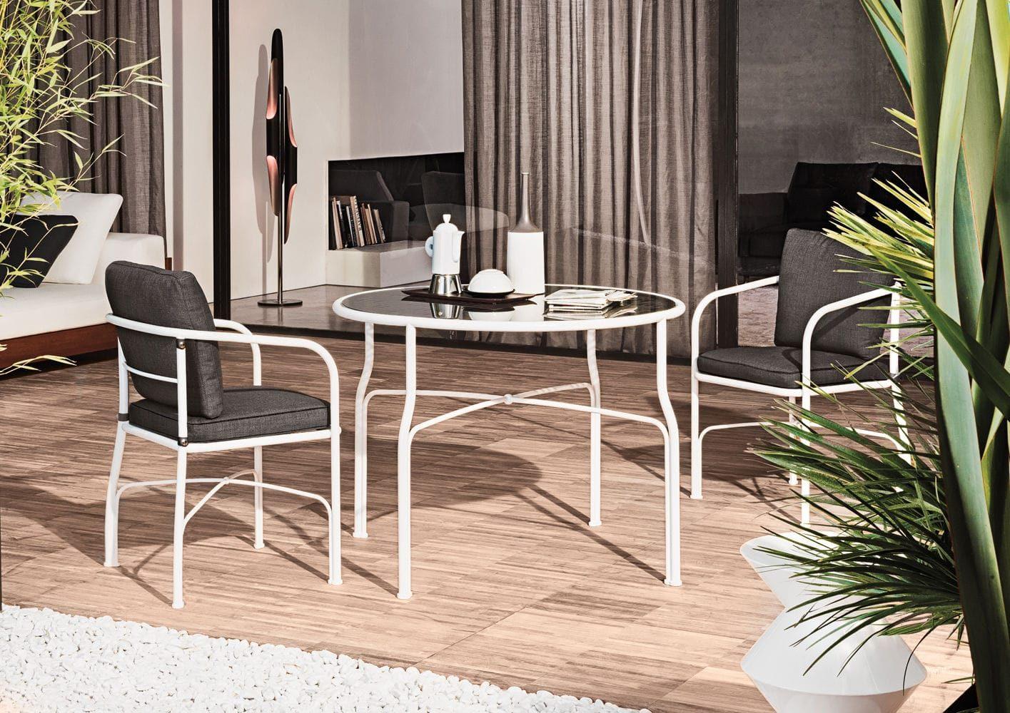 Cristales para mesas redondas free mesa redonda madera - Cristales para mesas redondas ...