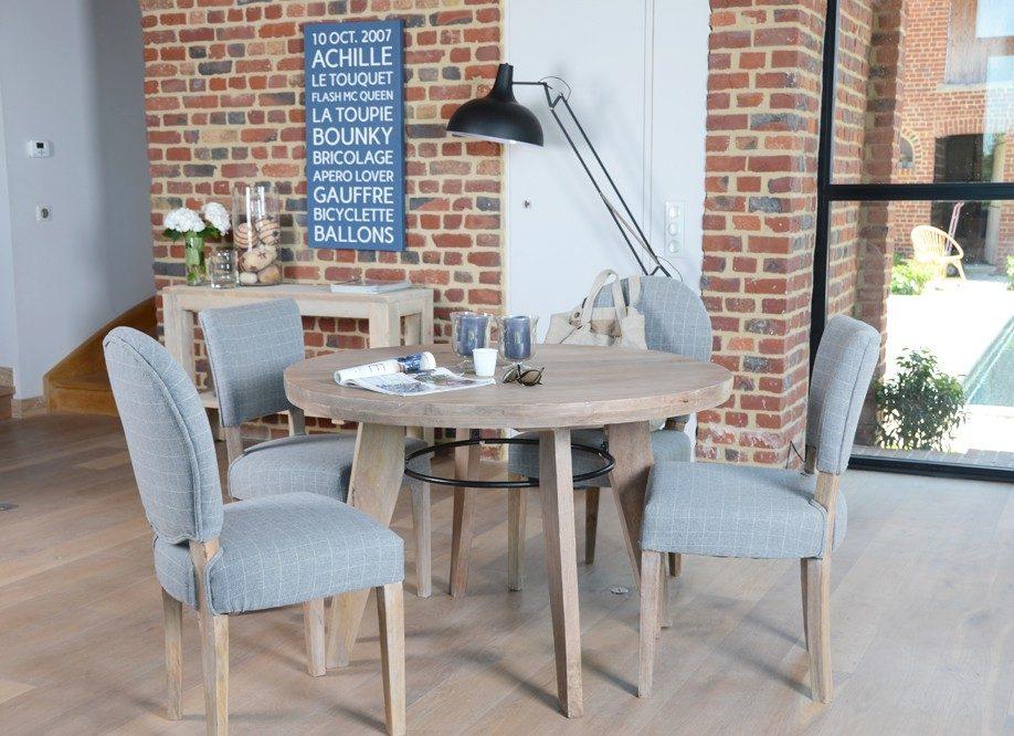 Galería de imágenes: Mesas de madera redondas