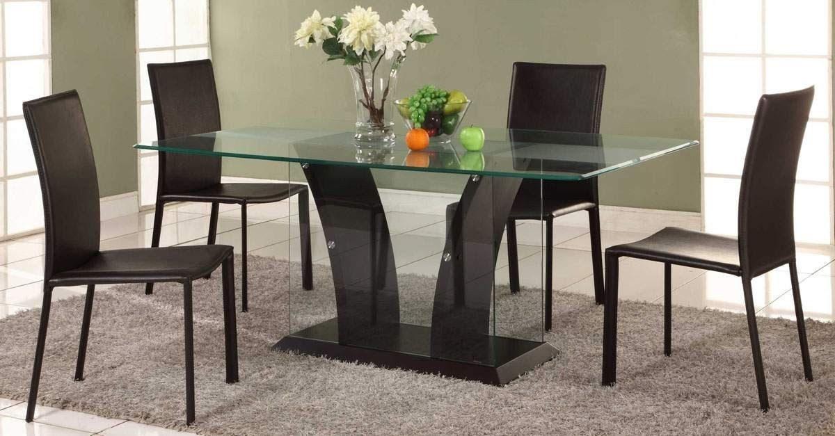 Modelos de mesas de comedor de vidrio casa dise o for Mesas de comedor becara