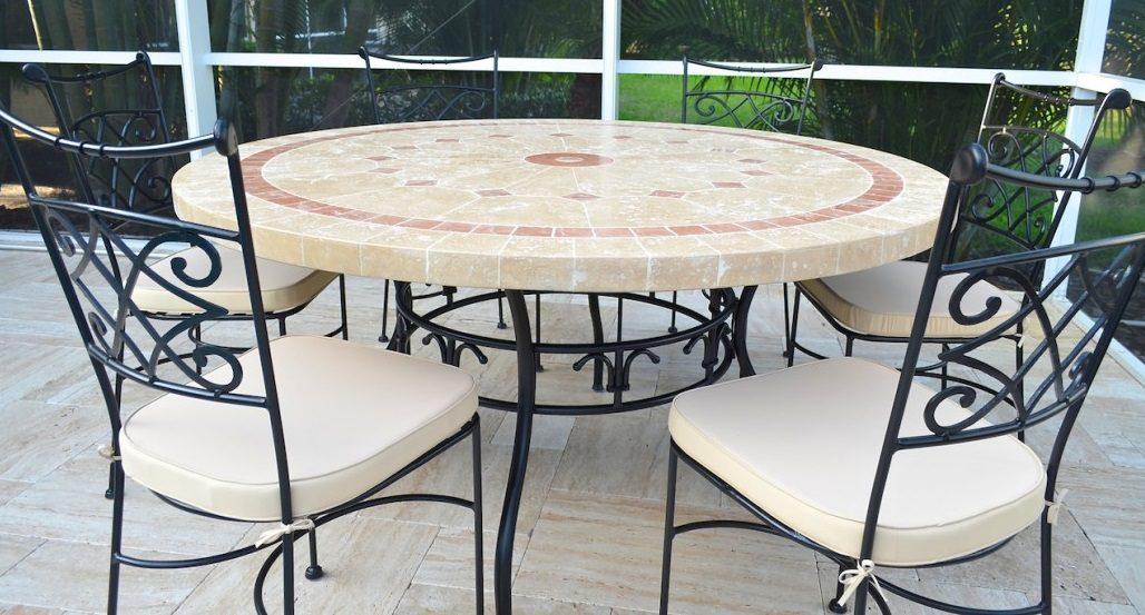 mesas de jard n de piedra
